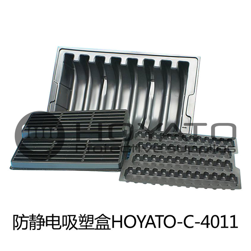 Professional ESD Consumables Corrosion Proof Durable Antistatic Blister Box